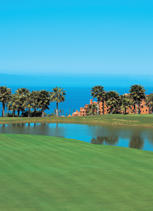 The Ritz Carlton Abama golf courses