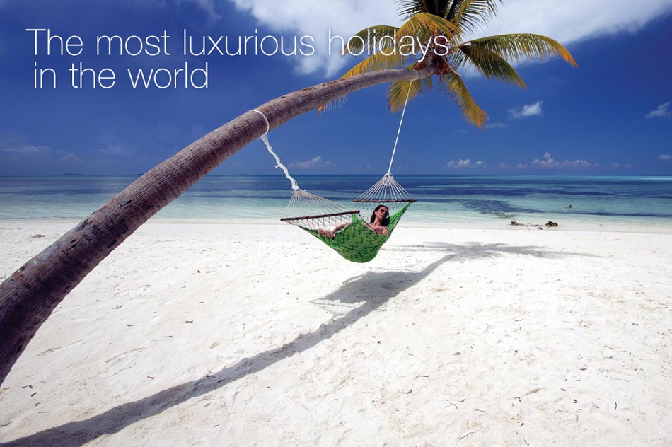 The most luxurious holidays in the world