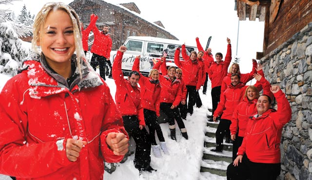 Chalet staff, from drivers to chefs and chalet hosts