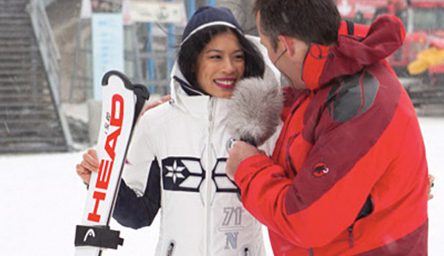 Vanessa Mae tells how Zermatt has changed her life