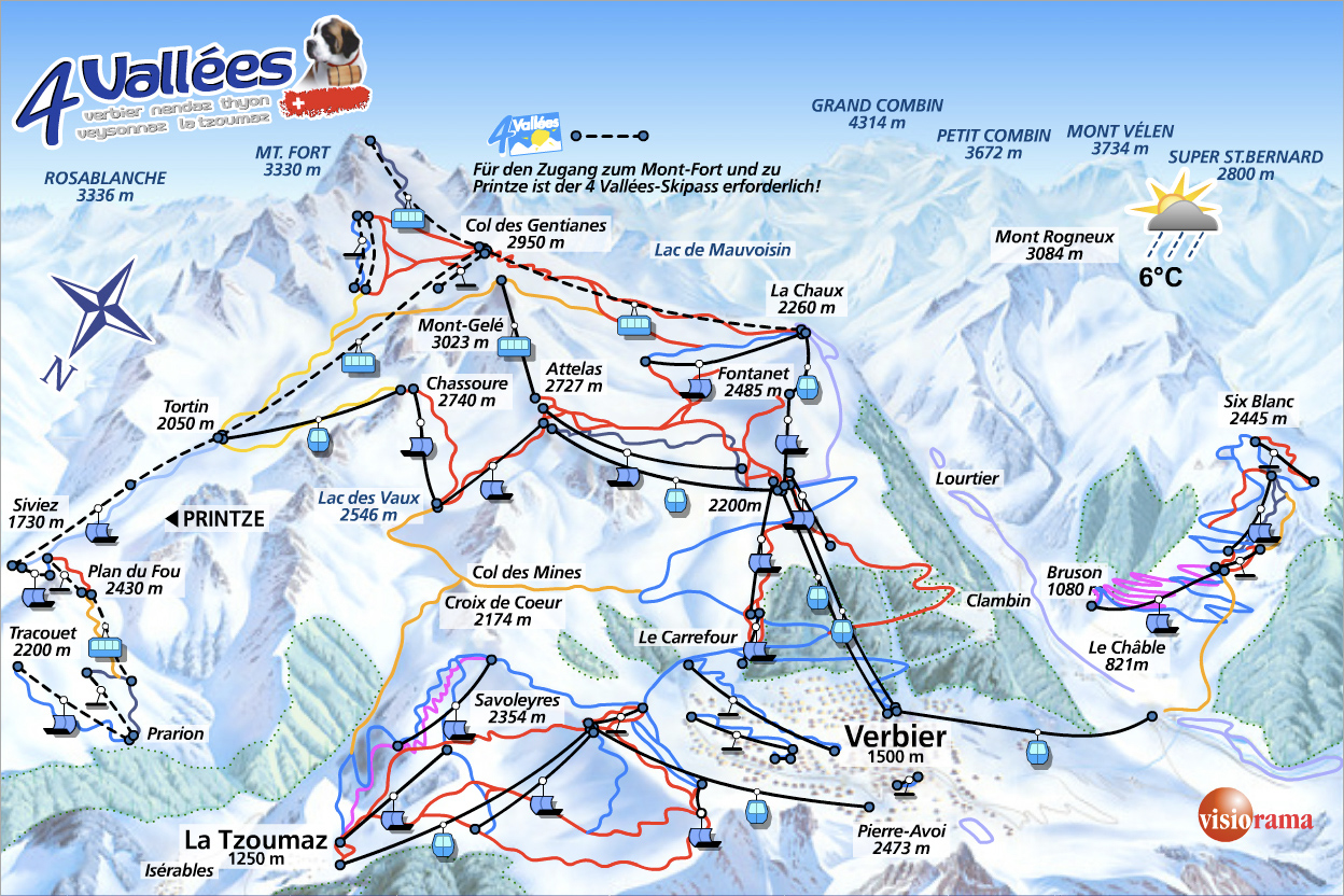 Verbier 4 valles Switzerland places I would like to visit
