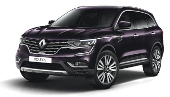 Renault Koleos with Sat Nav